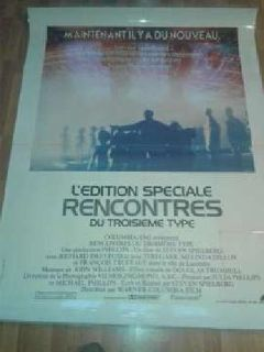 movie posters, vintage, laminated. 9 in French, Spanish, English