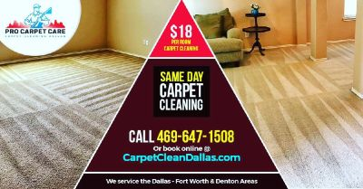 $18 Per Room Carpet Cleaning 📞 SAME DAY CARPET CLEANING