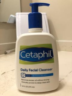 Cetaphil Daily Facial Cleanser Almost Full