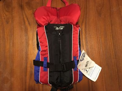 New with tags infant life jacket flotation device