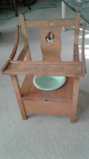 Childs Wood Potty Chair