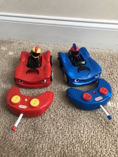 Little Tikes Bumper Car Set