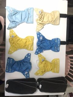 Cloth Diapers & Inserts