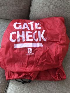 Gate check bag for car seat