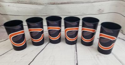 NFL Chicago Bears Cup 22 Oz (pint) Plastic Set of 6