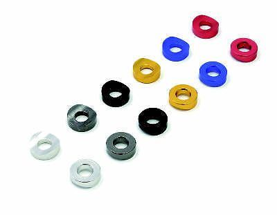 Buy DRC Rim Lock Spacers Blue Red Silver Gold Titanium Color Black motorcycle in Sugar Grove, Pennsylvania, United States, for US $5.45