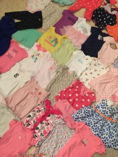 Box FULL of baby clothes 0-6 months