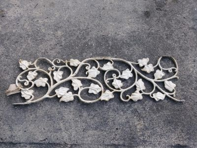 Old wrought iron pieces
