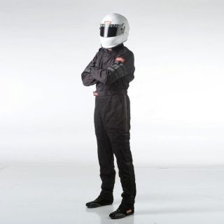 Purchase RaceQuip 110003 Driving Suit SFI-1 1-L SUIT BLACK MEDIUM motorcycle in Decatur, Georgia, United States, for US $99.95