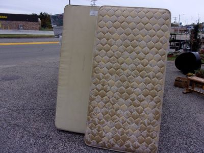 Twin Size Mattress and Box Springs