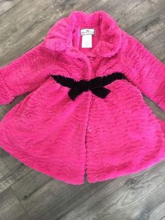 Beautiful, soft, boutique coat. Warm with pockets and so fancy! 4T. $5. PPU Stonegate.