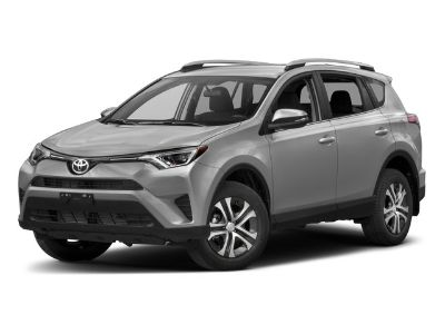 2017 Toyota RAV4 LE (Red)