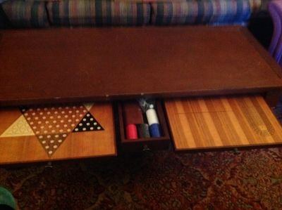 Coffee/game table