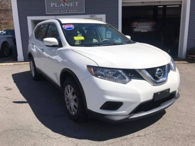2015 Nissan Rogue AWD 4dr SL (White)