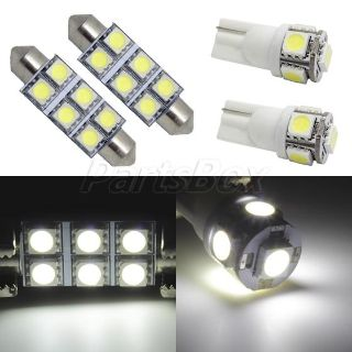 Sell 6x White LED Interior Light Package Multi-Model Dome Map License Plate Light motorcycle in Cupertino, CA, US, for US $16.99