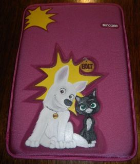 Disney Bolt & Mittens Neoprene Tablet Case iPad 1 2 3 Galaxy Android Windows Cover