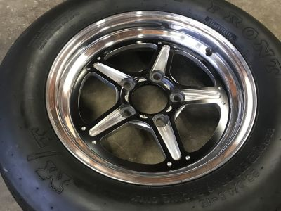 Billet Specialties and Mickey Thompson Drag Tires
