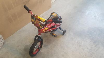 Great condition! Kids Lightening McQueen Bike for sale