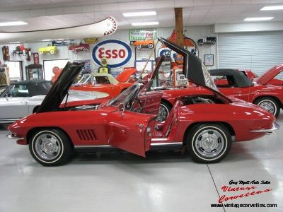1967 Chevrolet Corvette Red/350hp