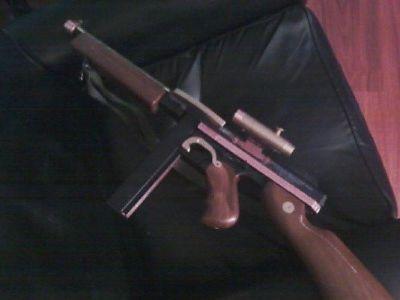 $150 Steampunk tommy gun
