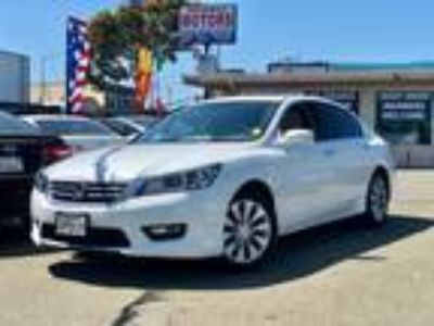 2014 Honda Accord EX-L Sedan White,