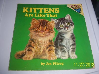 Kittens are like that