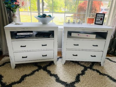Rustic / farm house style end tables