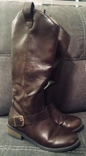 Girls Cat & Jack Brown Riding Boots