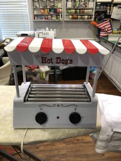 Old Fashion Hot Dog cooker - 3 pictures