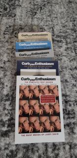 Six Seasons of Curb Your Enthusiasm DVD'S New Unopened