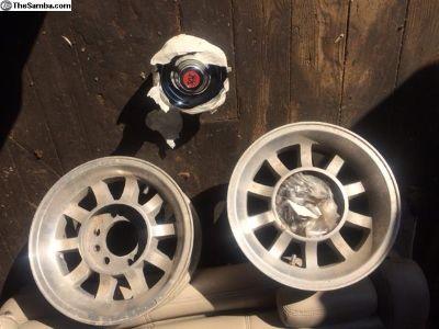 """14x7""""Western wheels"""