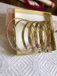 New bracelets brazilian gold