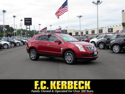 2016 Cadillac SRX Luxury Collection (Crystal Red Tintcoat)