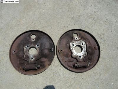 Volkswagen Beetle Early Front Backing Plates.