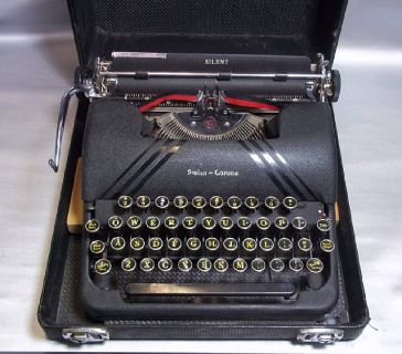 Typewriter Smith Corona Silent -Vintage 1940