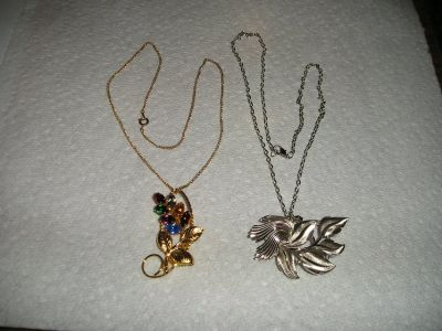 Vintage Pin Necklaces - have 2 different ones