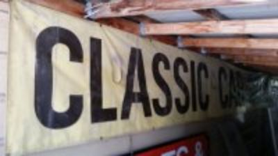 3' x 20' Classic car sales banner