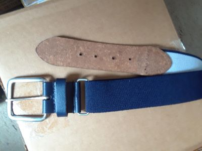 Russel Athletic Navy Belt. Brand New w/Tag. Size not mentioned.