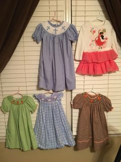 Five Dresses All for $20 CP Meet at the Summit (2-3T)