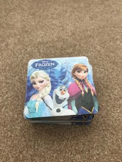 Frozen matching card game
