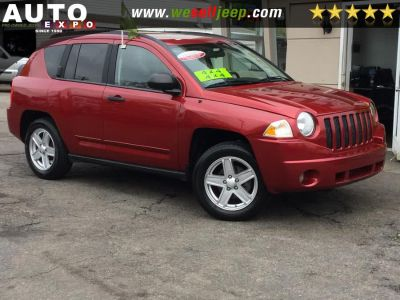 2008 Jeep Compass Sport (Inferno Red Crystal Pearl)