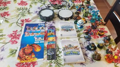 Huge skylander collection