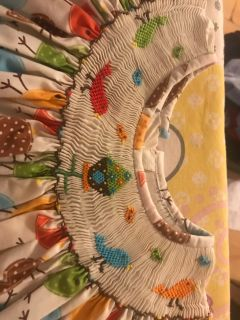 SIZE 4T. CUKEE ADORABLE MULTICOLORED BIRD DRESS