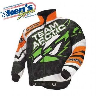 Purchase ARCTIC CAT Men's Lime/Orange TEAM ARCTIC SNO CROSS Snowmobile Jacket 5240-27_ motorcycle in Kaukauna, Wisconsin, United States, for US $69.99