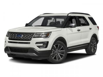 2016 Ford Explorer Platinum (Silver)