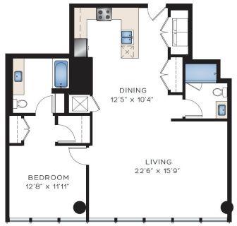 $6060 1 apartment in Metro Los Angeles