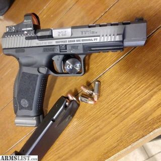 For Sale/Trade: Canik TP9-SFX Burris FF3