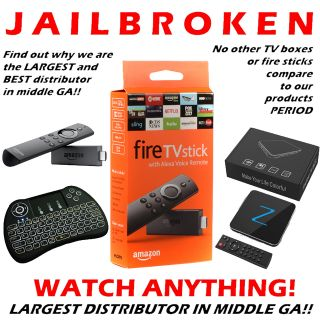 Fire TV Sticks - READY TO USE FIRESTICKS