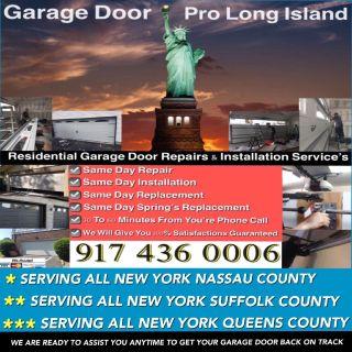 GARAGE DOOR REPAIR AND INSTALLATION SERVICE NY-LI