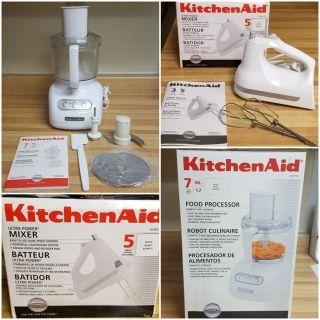 KitchenAid 7 Cup Food Processor & Mixer